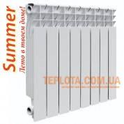 Радиатор биметаллический Summer (Ekvator) 500-76 - Акционная цена, Одесса