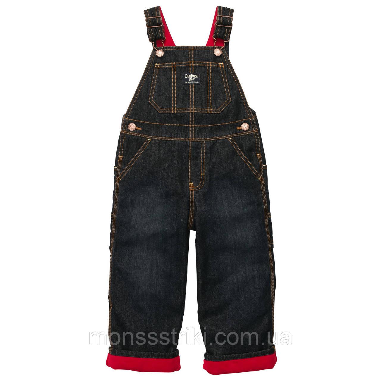 Детский джинсовый комбинезон для мальчика