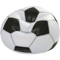Детское надувное кресло Футбольный мяч Intex 68557