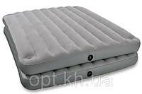 Надувная велюр-кровать Intex 67744 в Украине