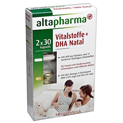 Altapharma витамины для беременных 10