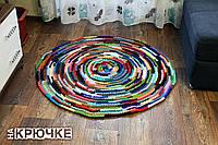Вязаный круглый коврик «Daring»