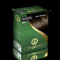 Краска для волос Темно-коричневая Chandi, 100 г