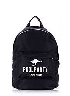 Рюкзак молодежный POOLPARTY, backpack-kangaroo-black