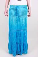 Женская летняя юбка с красивым оформлением