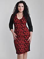 Платье трикотажное, два цвета 01124