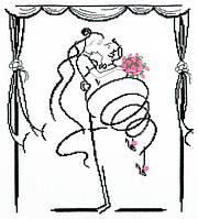 """Набор для вышивания крестом """"Свадебный вальс"""""""