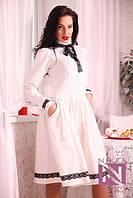 Платье Изысканное белое