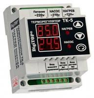 Терморегулятор ТK-5 (цифровой) 6А DIN рейка,электрооборудование для сада и дома,качество
