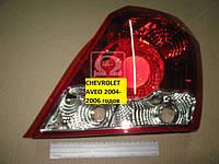 Фонарь  Chevrolet Aveo 2004- 2006 годов, кузов  T200, производитель Depo, Тайвань