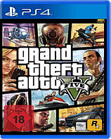 PS4 Grand Theft Auto 5 Русская версия