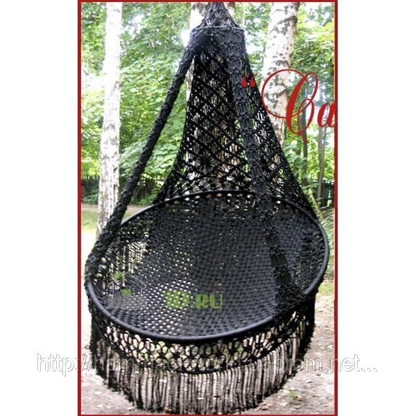 Подвесное кресло-гамак своими руками макраме
