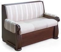 Кухонные диваны диван «Александра» + спальное место натуральное дерево