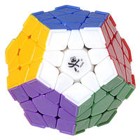 DaYan Megaminx | mixed with corner ridges | Мегаминкс