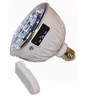 Лампа светодиодная 19LED, аккумуляторная с пультом YJ-9802A,фонари и светильники,качество