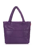 Фиолетовая дутая сумка POOLPARTY