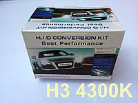 Комплект ксенон H3 4300K 35W DC