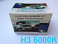 Комплект ксенон H3 6000K 35W DC