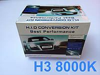Комплект ксенон H3 8000K 35W DC