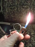 Зажигалка нож - кастет.