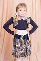 Великолепное платье с цветочным принтом