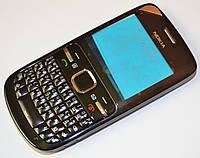Корпус Nokia C3 00 чёрный с клавиатурой class AAA