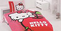 Детский постельный набор Altinbasak Hello Kitty Apple  ранфорс 1000919