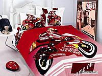 Постельное белье из сатина детское ARYA Motor Bike 1000387