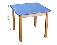 Детский деревянный стол (цвета в ассортименте)