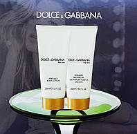 Подарочный набор Dolce&Gabbana The One Women (гель для душа + лосьон для тела)