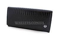 Женский кожаный кошелек BALISA, черный лак