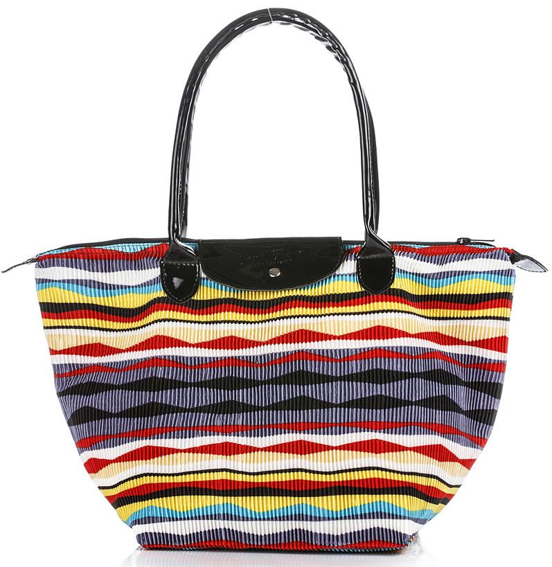 Яркая женская вельветовая сумка с клапаном POOLPARTY pool80-velvet-red красная