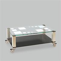 Стол журнальный стеклянный Vito(1100*600*370)