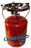 Баллон газовый с горелкой 12л «Пикник» c переходником для заправки