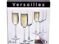 Набор фужеров для шампанского WERSAILLES  LUMINARC  6х160мл G1484