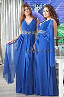 Вечернее платье в пол креп-шифон + подкладка размеры 44,46,48,50,52