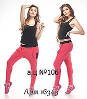"""Стильные женские штаны """"Спорт спайс"""" мод 106"""
