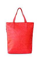 Купить яркую красную сумку женскую