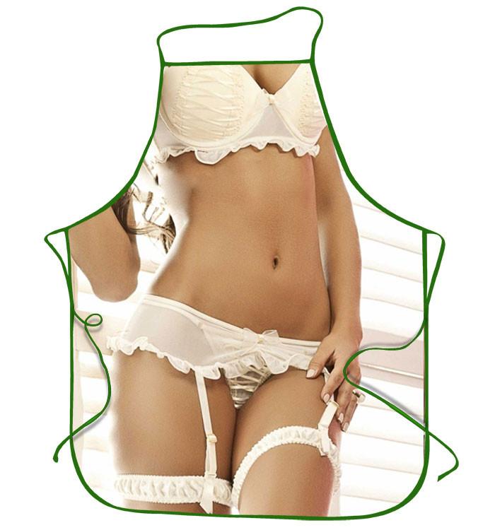 Порно фото женский фартук брюхо