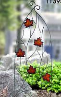 """Декоративная опора для вьющихся растений """"Листья"""" BF-17"""