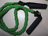 Эспандер для фитнеса трубчатый в защитном рукаве (XL)