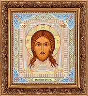 Схема для вышивки бисером икона Спас Нерукотворный