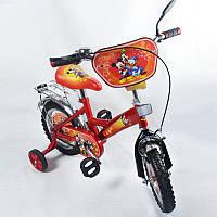 Детский двухколесный велосипед 12 дюймов  Мики Маус