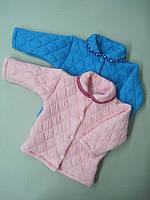 Детская кофта для младенцев Стеганная. Размер 68 - 80 см