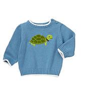 Детский свитер для мальчика. 12-18, 18-24 месяца