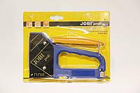 Степлер строительный JOBI под два типа скобы и гвозди.