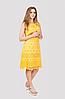Эффектное и яркое женское платье