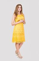Эффектное и яркое женское платье, фото 1