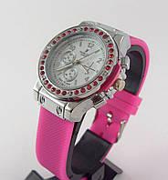 Часы женские наручные Hublot 012604 розовые