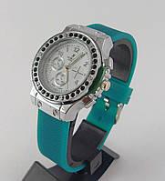 Часы женские наручные Hublot 012605 зеленые